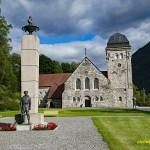 Kyrkan. Rjukan. Norge (U)