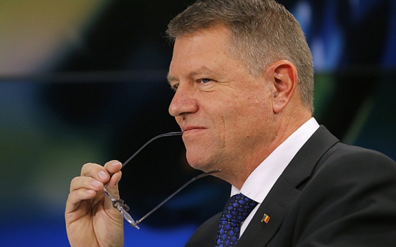 Iohannis - telegraph.co.uk