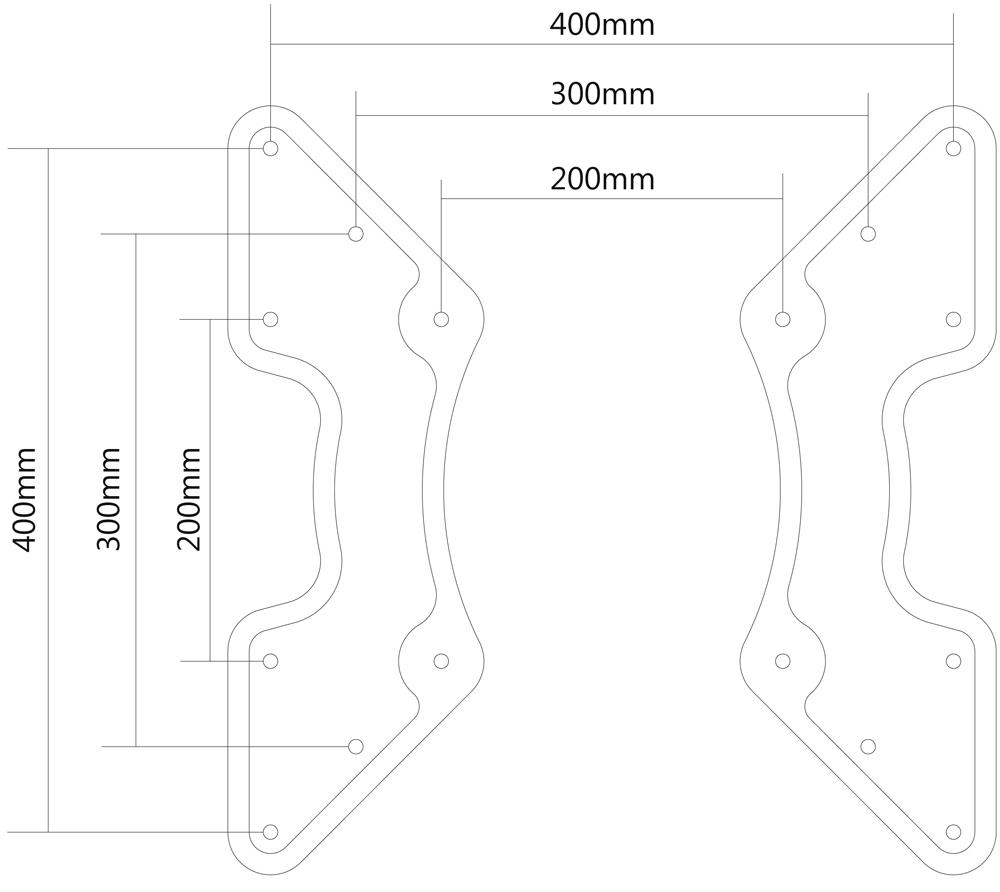 400 200x200 400 Vesa Adapter X