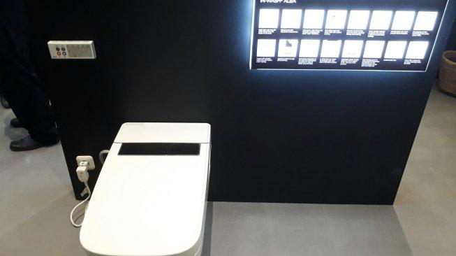 Toilet premium. (Suara.com/Firsta Putri Nodia)