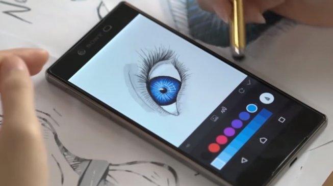 Aplikasi gambar atau doodle Android, PaperDraw: Paint Draw Sketchbook. [Google Play Store]