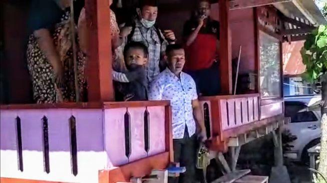 Tangkapan layar video penangkapan Ruslan Buton. [ist]