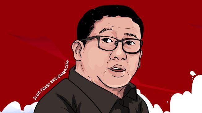 Ilustrasi Fadli Zon. (Suara.com/Ema Rohima)