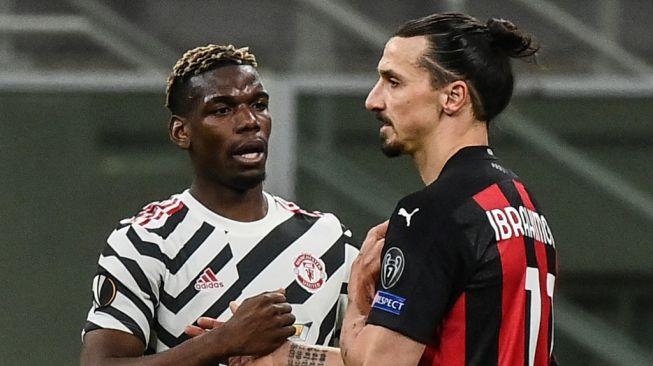 Pogba a Ibrahimović
