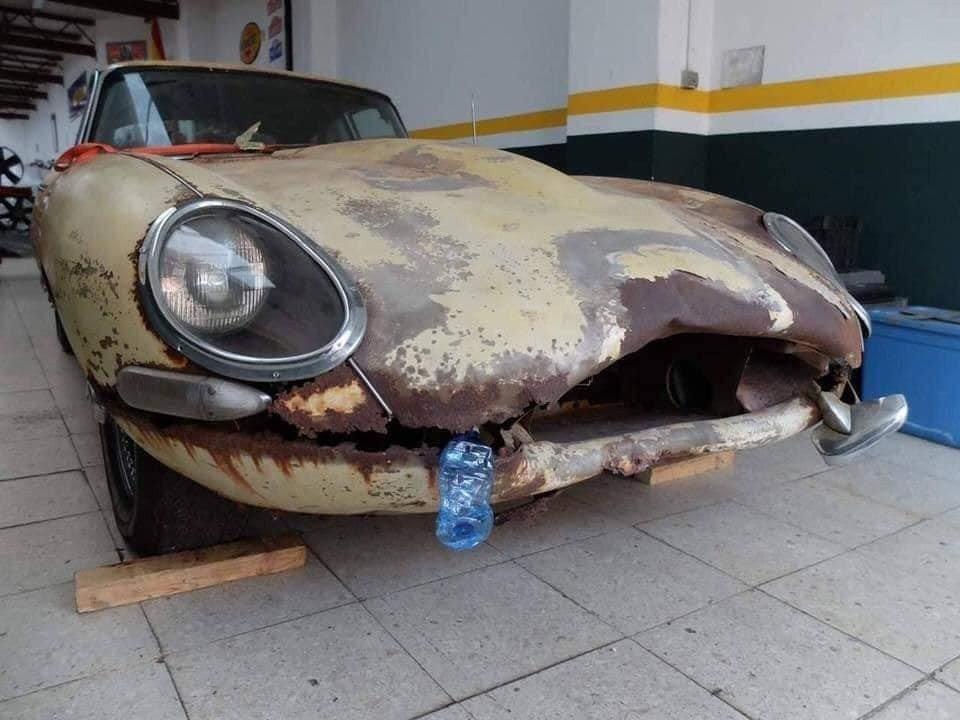 Jaguar S1. (Facebook/Kuruma Engineer)