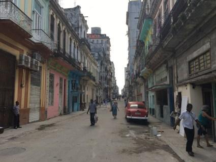 Bakgata i Havanna
