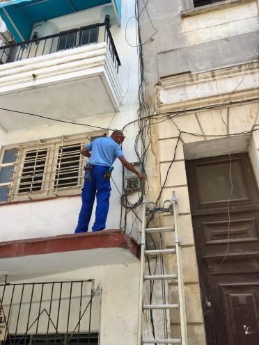 Elen funkade i Havanna