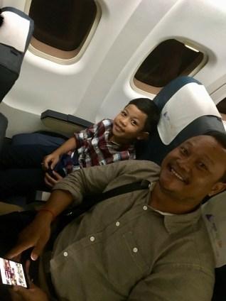 På flyget