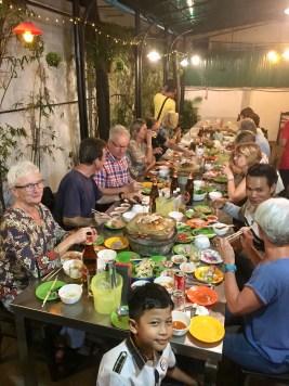 Välkomstmiddag i Siem Reap - BBQ