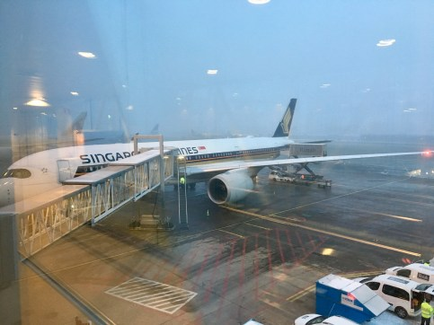 Singapore Airlines framme