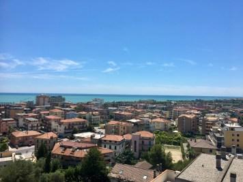Utsikt från Maritas lägenhet