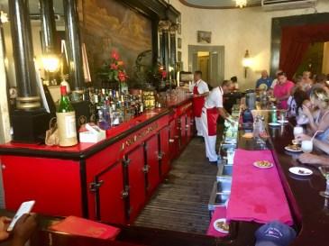 Känd bar i Havanna