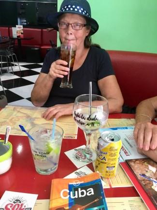 Lunch i Havanna