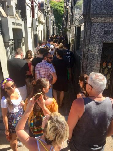 Populär kyrkogård = Recoleta