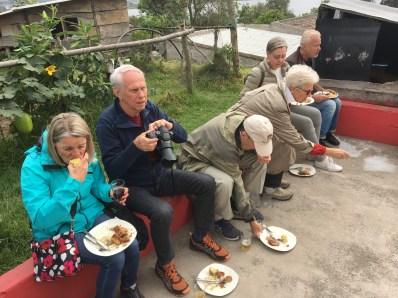 Lunch i Otavalo