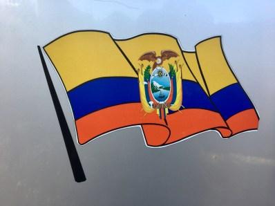 Ecuadors flagga