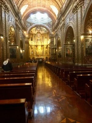 Kyrka i Quito
