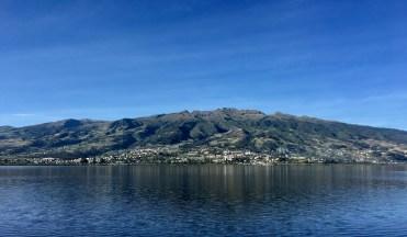Vy från lodgen i Otavalo