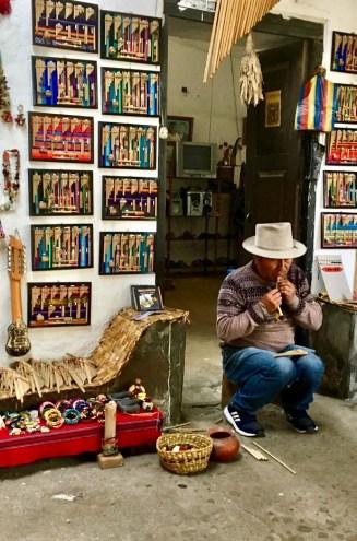 La casa de musica i Otavalo