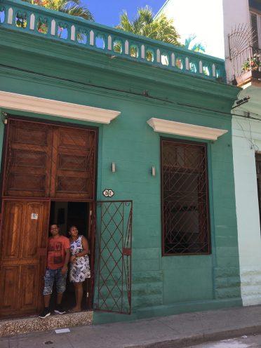 Vårt boende i Havanna