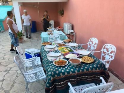 Middag hemma i Havanna