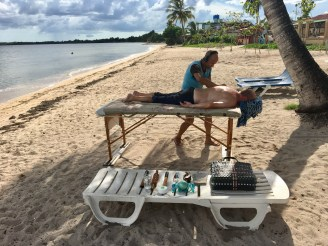Massage på stranden