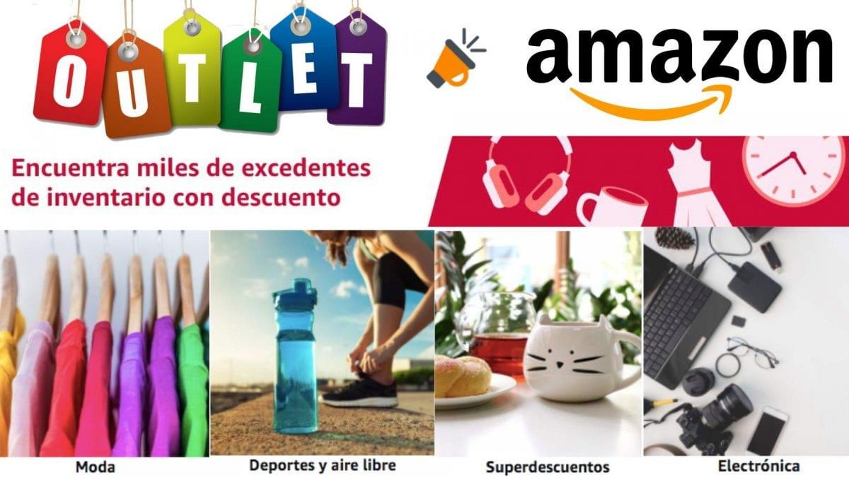 OUTLET AMAZON! Miles de artículos con hasta -90% DTO. 🔝🤑