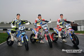 Sveriges juniorlag till Supermoto of Nations 2014