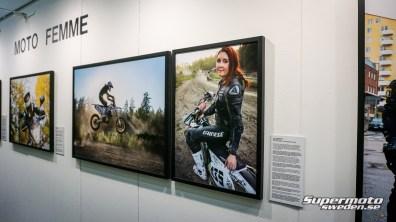 """Jessica Frödin Boije fanns med under """"Moto Femme"""" utställningen"""