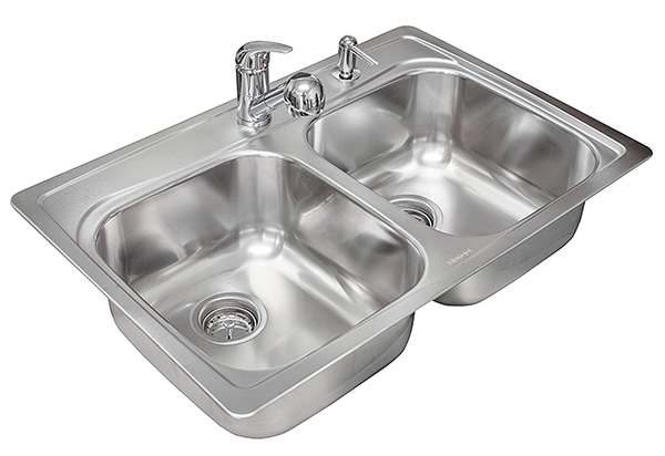 all in one stainless steel kitchen sink
