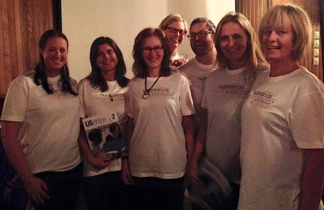 Premiär för riksförbundets nya t-shirts!