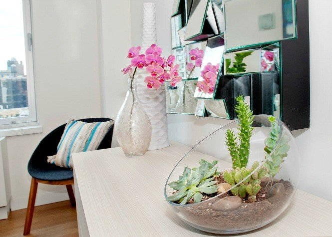 1_ Ukrasite biljkama moderni enterijer