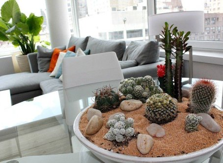 2 Ukrasite biljkama moderni enterijer