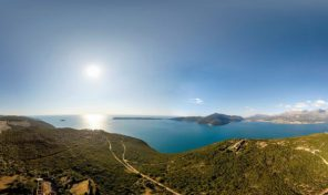 Land for sale on peninsula Lustica, Herceg Novi