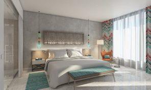 Lustica Bay, The Chedi hotel – luksuzan apartman 50m2, na prvoj liniji do mora