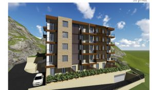 One bedroom apartment in new building with panoramic sea view – Dobrota, Kotor