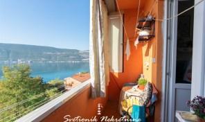 Jednosoban stan sa panoramskim pogledom na more – Herceg Novi
