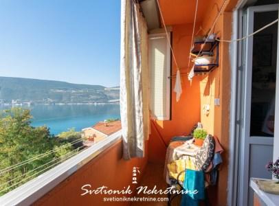 Jednosoban stan sa panoramskim pogledom na more Herceg Novi 15