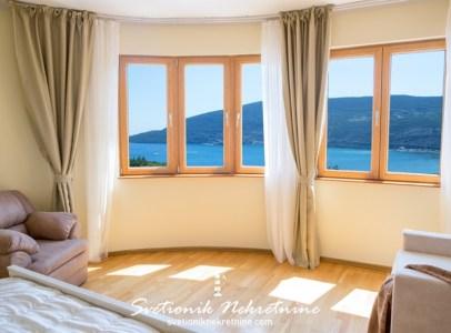 Prodaja stanova Herceg Novi Luksuzan stan sa panoramskim pogledom na more Topla