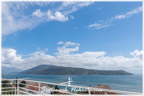 Prodaja stanova Herceg Novi - Trosoban stan sa panoramsim pogledom na more, Savina