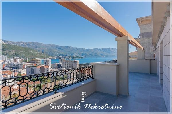 Prodaja stanova Budva – Prelep dvosoban stan sa panoramskim pogledom na more, Babin Do