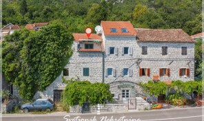 Renovated seafront stone house – Strp, Kotor