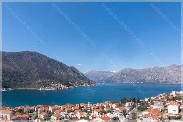 Prodaja stanova Kotor - Dvosoban stan u novogradnji sa pogledom na more, Dobrota