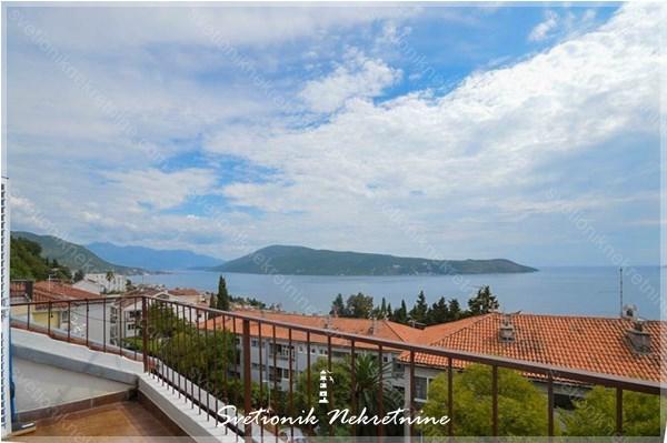 Prodaja stanova Herceg Novi - Dvosoban stan sa panoramskim pogledom na more, Karaca