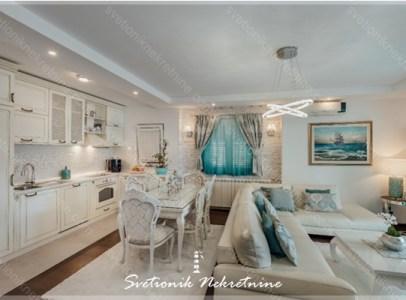Prodaja stanova hercegnovska rivijera - Dvosoban stan sa pogledom na more u kompleksu sa bazenom, Djenovici