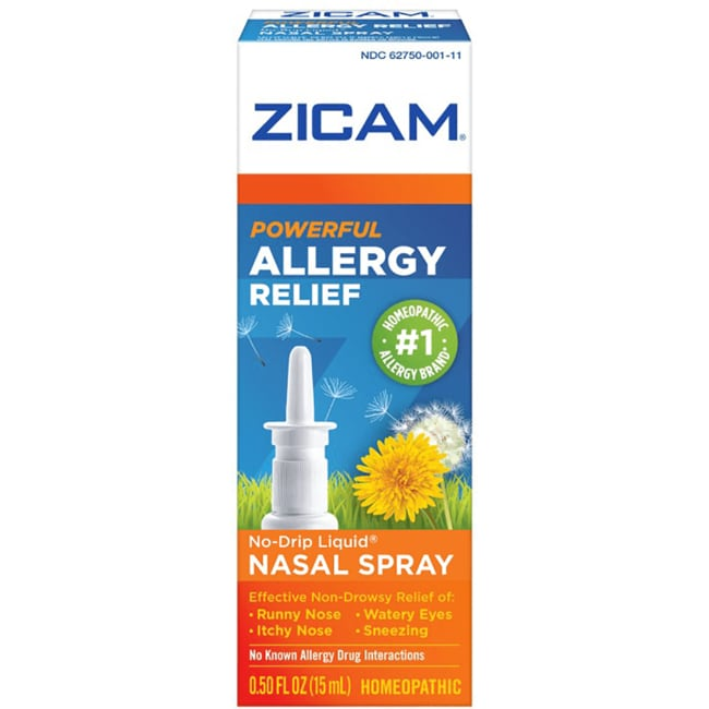 Zicam Allergy Relief Nasal Gel Non-Drowsy 0.5 fl oz Gel - Swanson ...