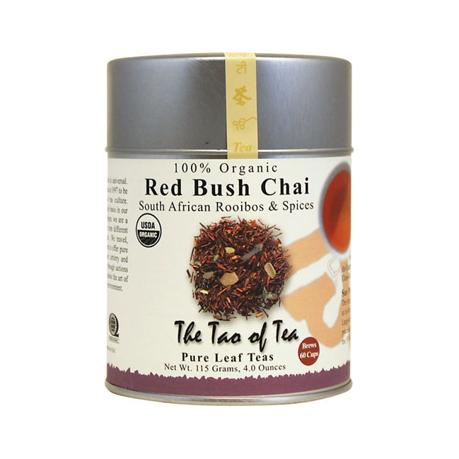 The Tao Of Tea Red Bush Chai South African Rooibos