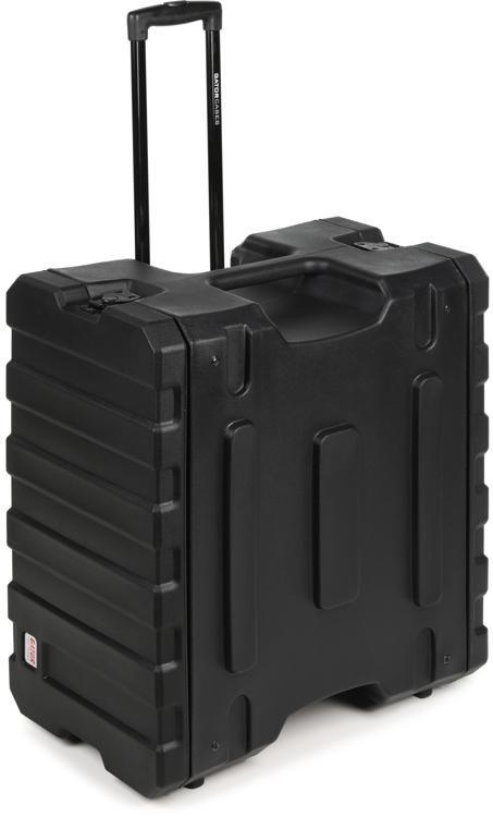 g pror 6u 19 pro series rolling rack case
