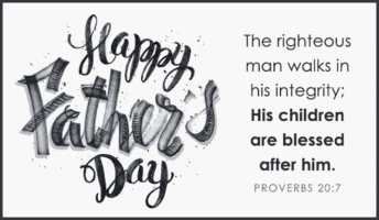 Fathers Day Bible Verses