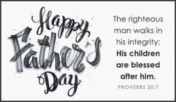 Happy Father's Day - Choose Joy Foundation
